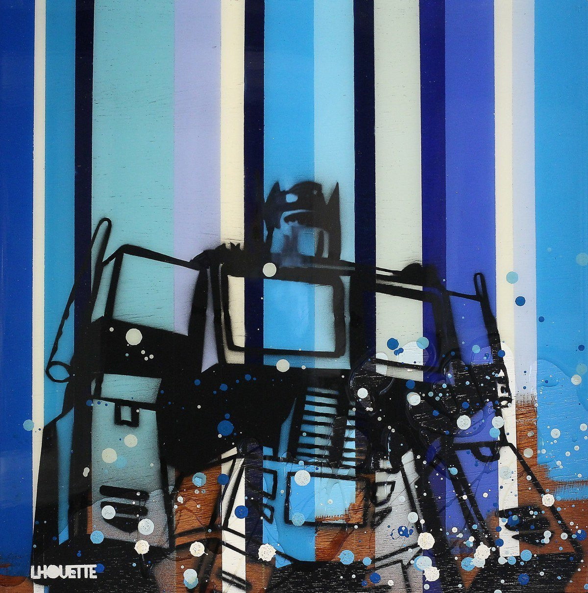 Colour Crate - Optimus Prime - SOLD Lhouette