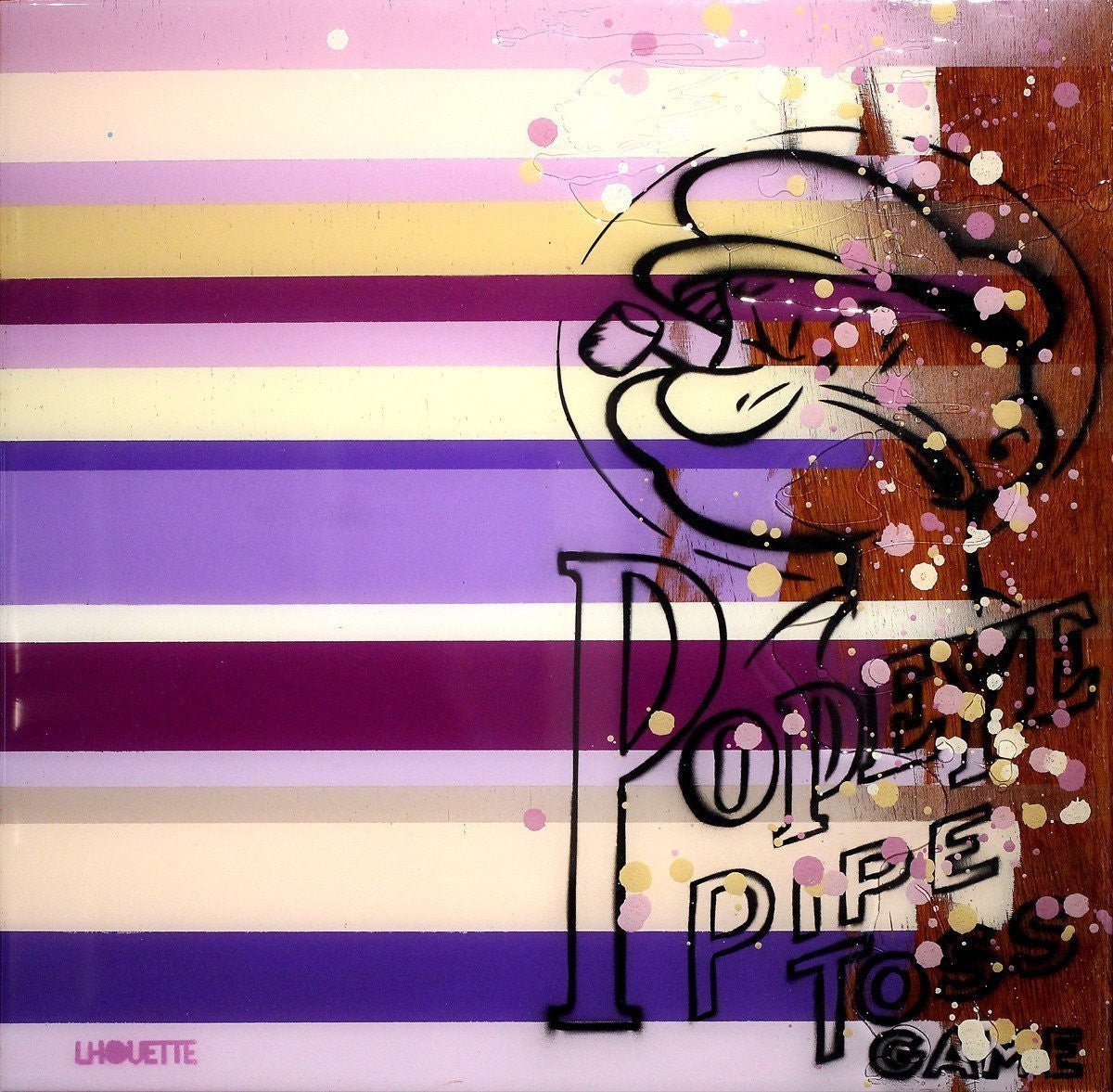 Colour Crate -  Popeye II - SOLD Lhouette