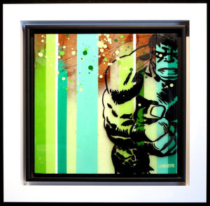 Colour Crate - The Hulk - SOLD Lhouette