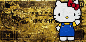 Hong Kong Dollar - Hello Kitty - SOLD Lhouette