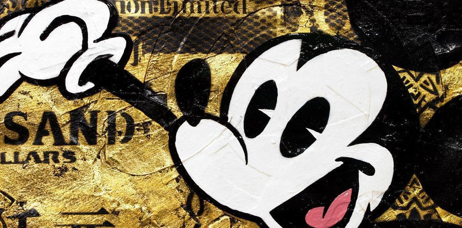 Hong Kong Dollar - Mickey Mouse Lhouette