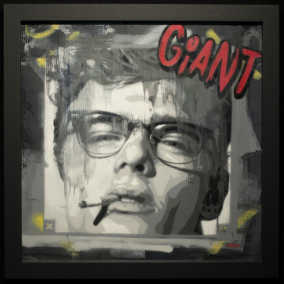 James Dean - Giant Lhouette