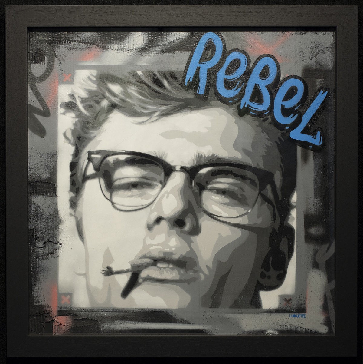 James Dean - Rebel Lhouette
