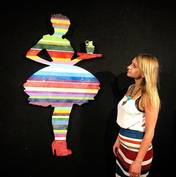 Last Orders Striped - Sculpture - SOLD Lhouette