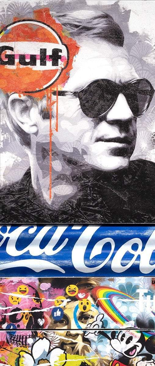 Mass McQueen - Coca Cola Blue- Boutique Edition - SOLD