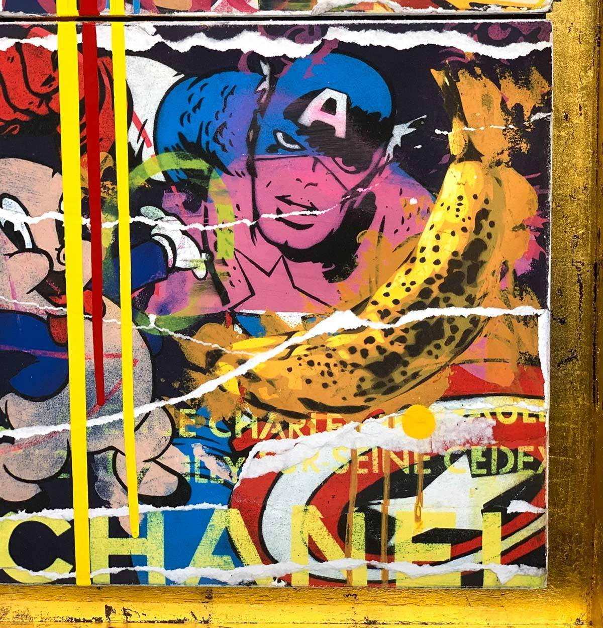 Maximalist Pop Panellists - Boutique Edition Lhouette Artist Proof 5 - RESERVED