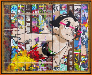 Paint Strippers - Astro Boy Edition Lhouette Edition AP1 - Astro Boy