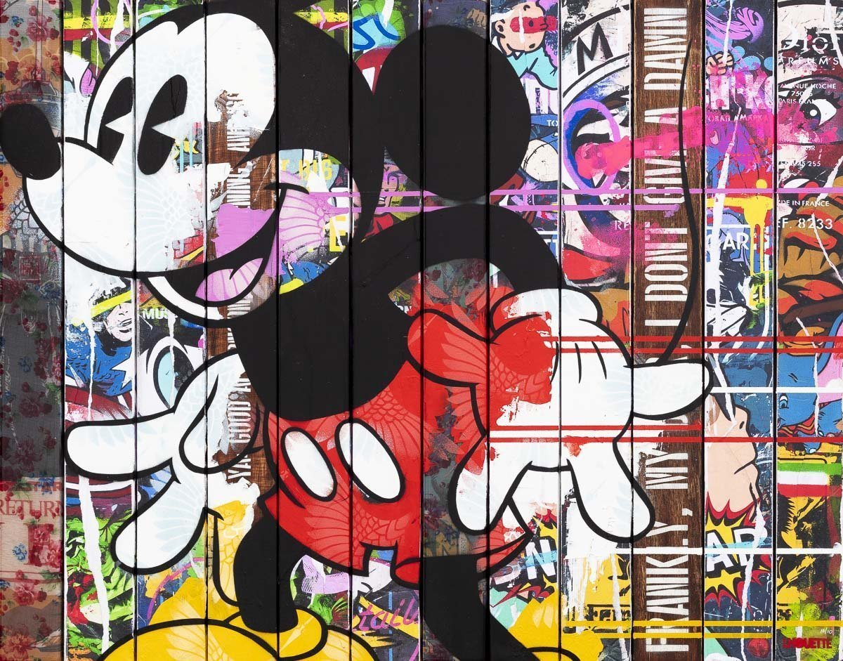 Paint Strippers - Mickey Mouse Edition Lhouette Edition 10 - Mickey Mouse