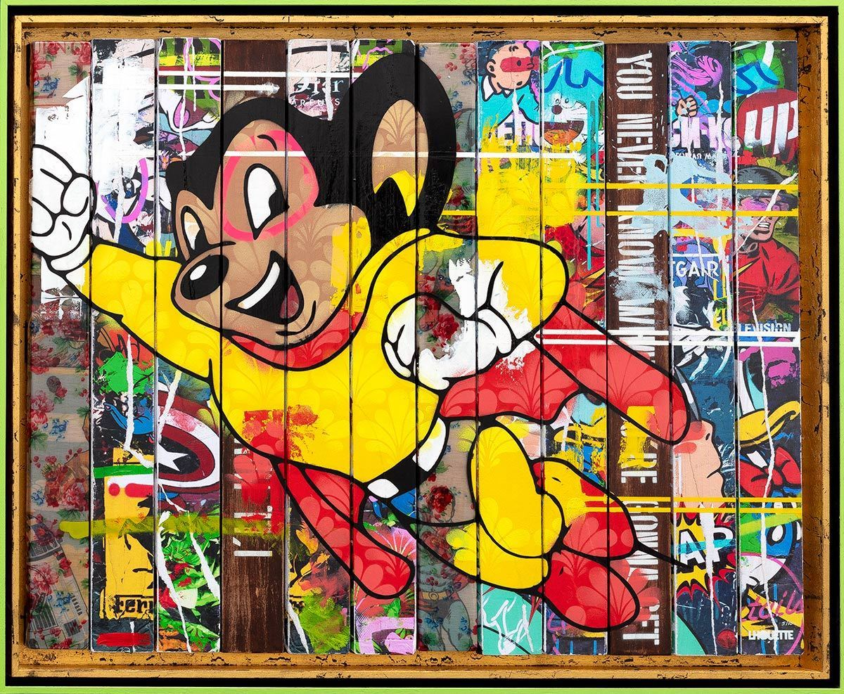 Paint Strippers - Mighty Mouse Edition Lhouette Edition