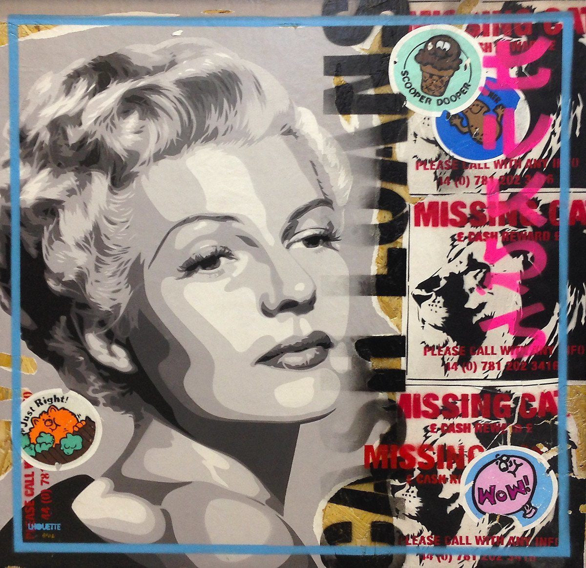 Paste Up - Rita - Limited Edition Lhouette