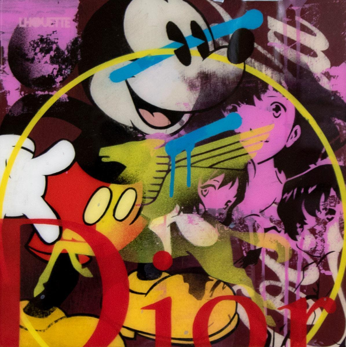 Pop Panel - Mickey Mouse LHouette