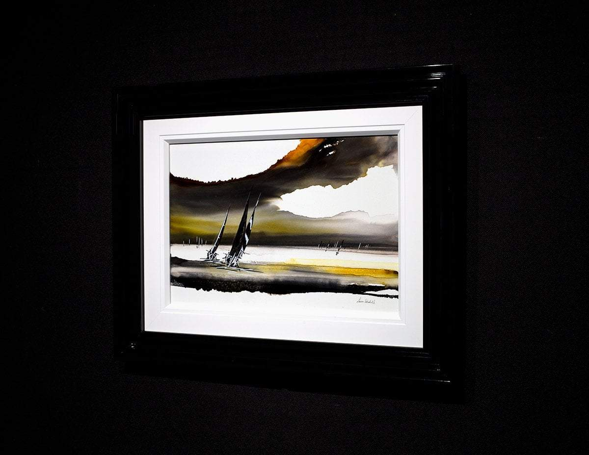 Stormy Skies - Original Louise Schofield Framed