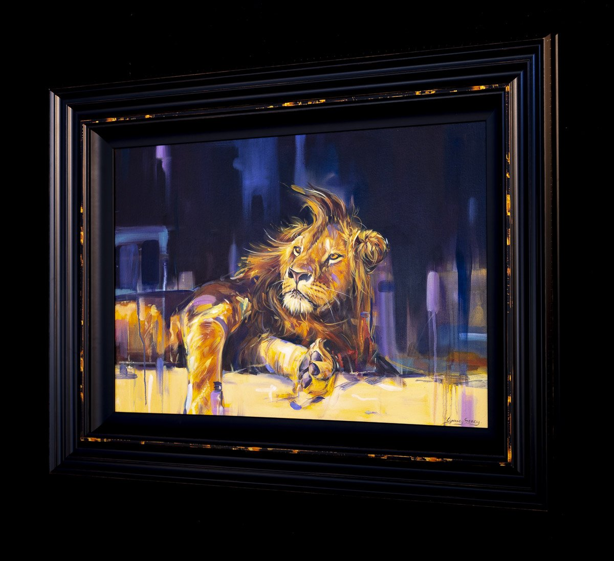 Majestic - Original Lyndsey Selley Framed