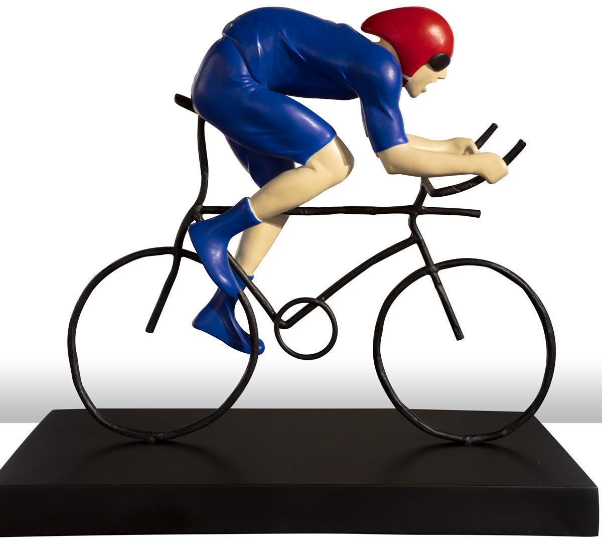 The Fastest - Sculpture Mackenzie Thorpe Loose