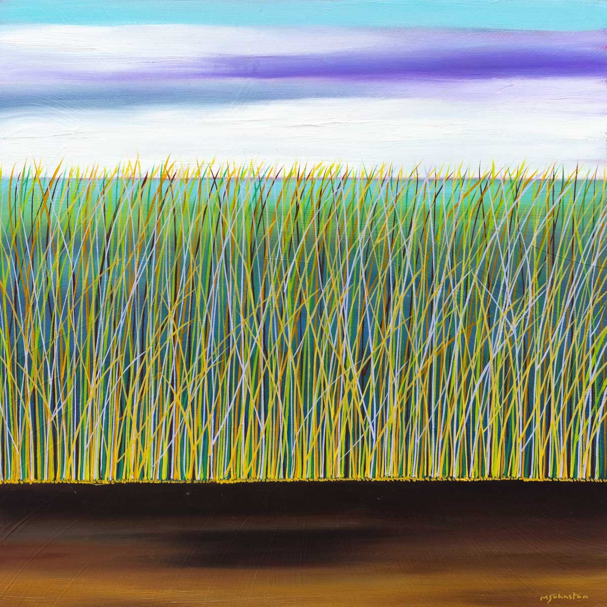 Into The Grassland - Original