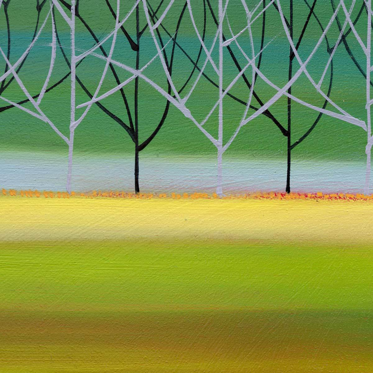 Tranquil Trees - Original Mary Johnston Original