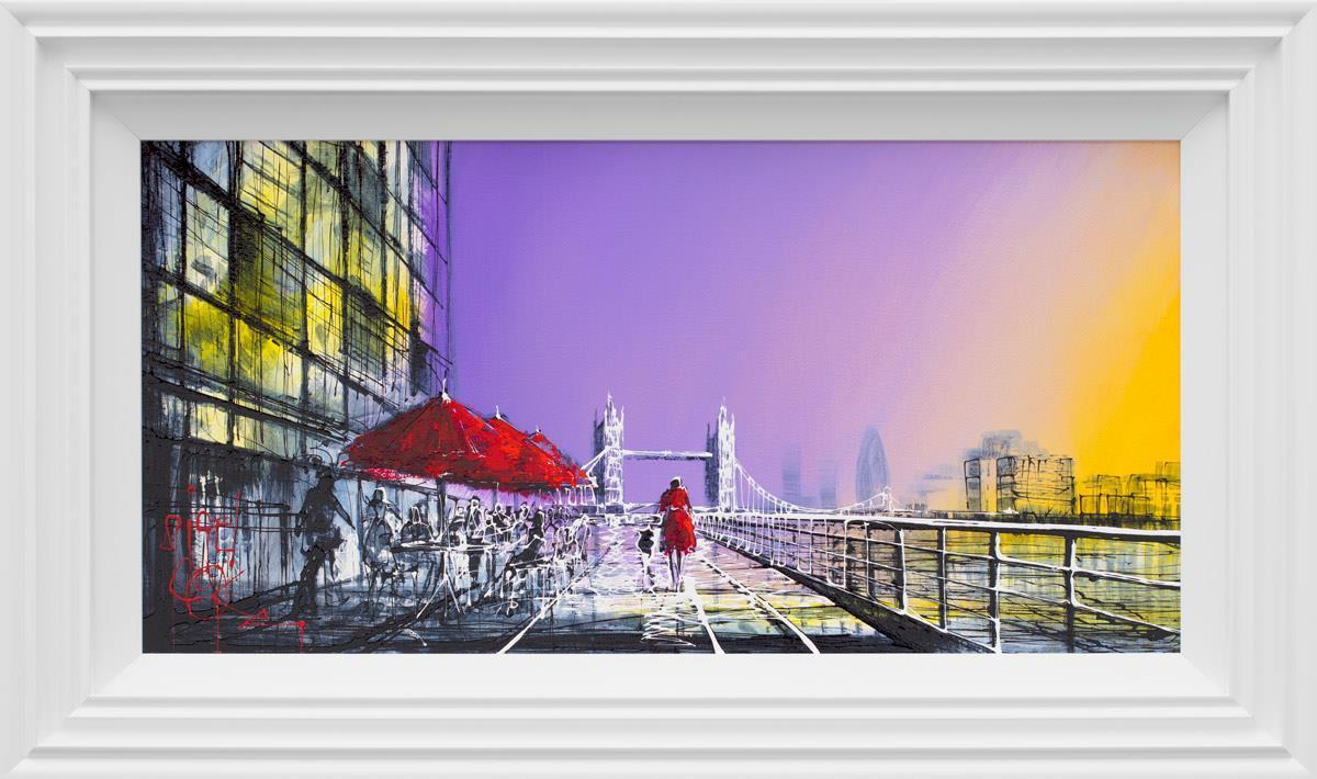 Butlers Wharf at Dawn - Original Nigel Cooke