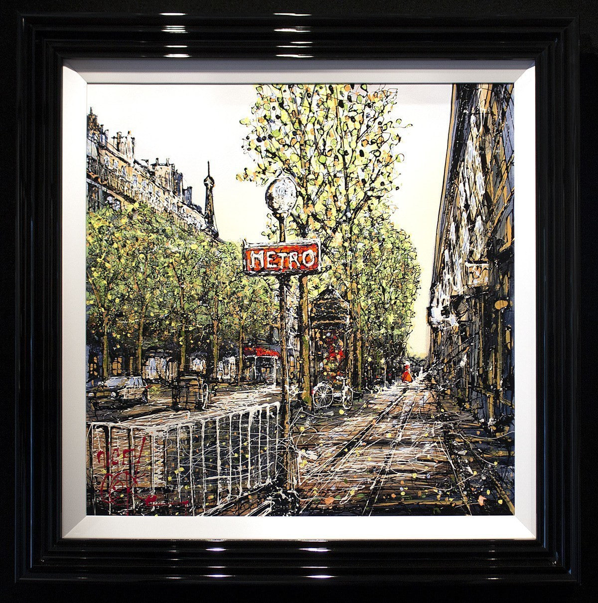 City Life, Paris - SOLD Nigel Cooke