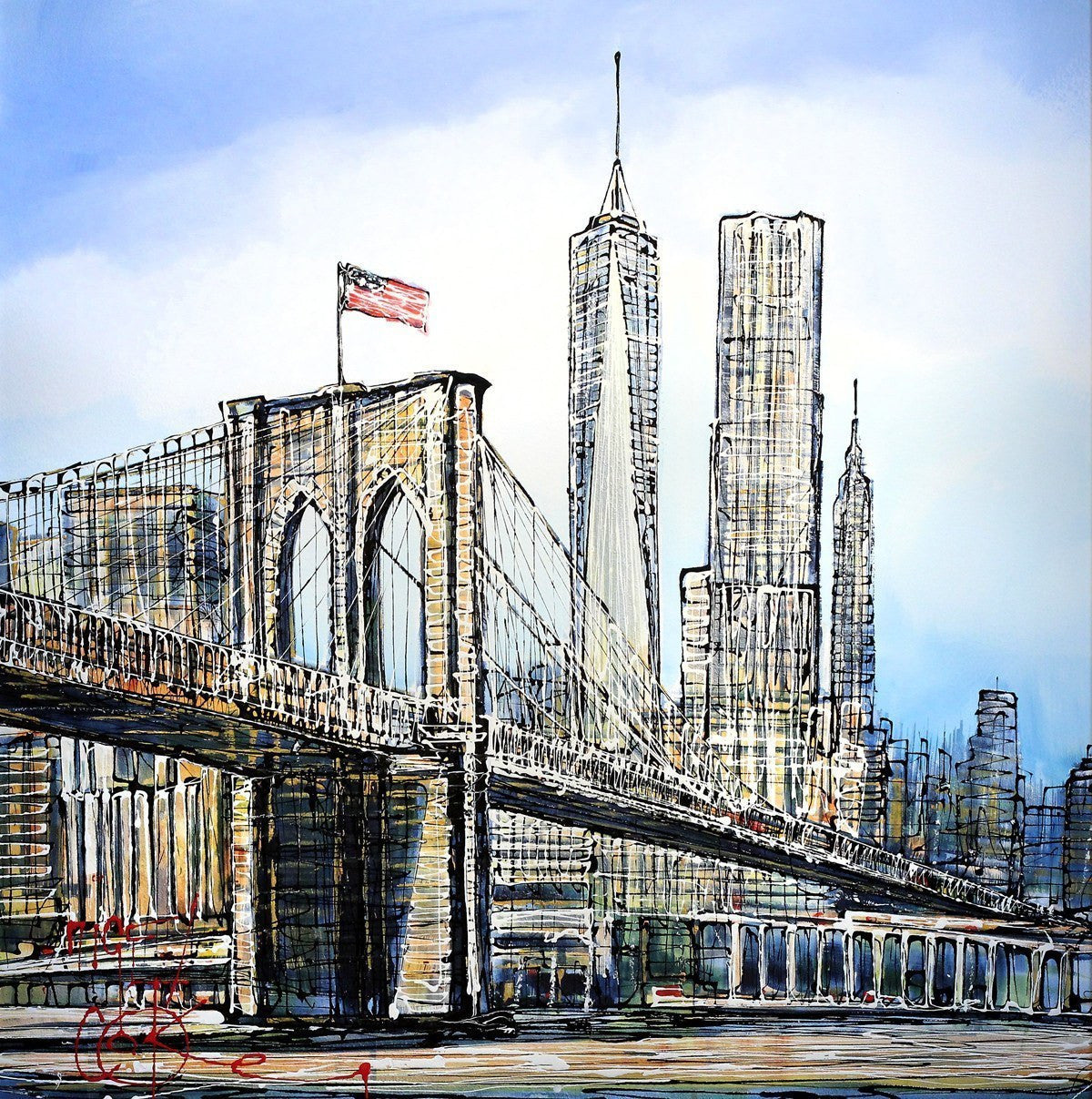 City of Dreams - SOLD Nigel Cooke