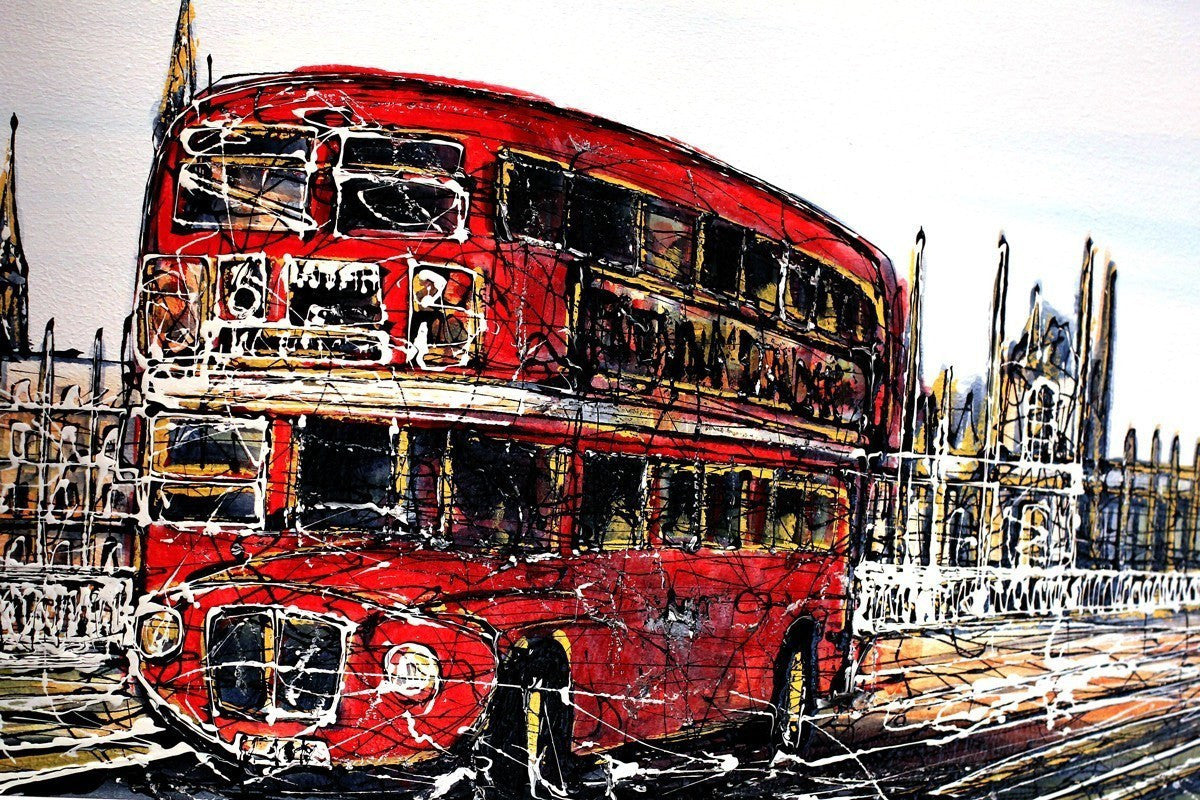 Crossing Westminster Bridge - SOLD Nigel Cooke