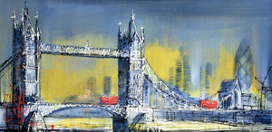 Dawn at Tower Bridge - Original Nigel Cooke