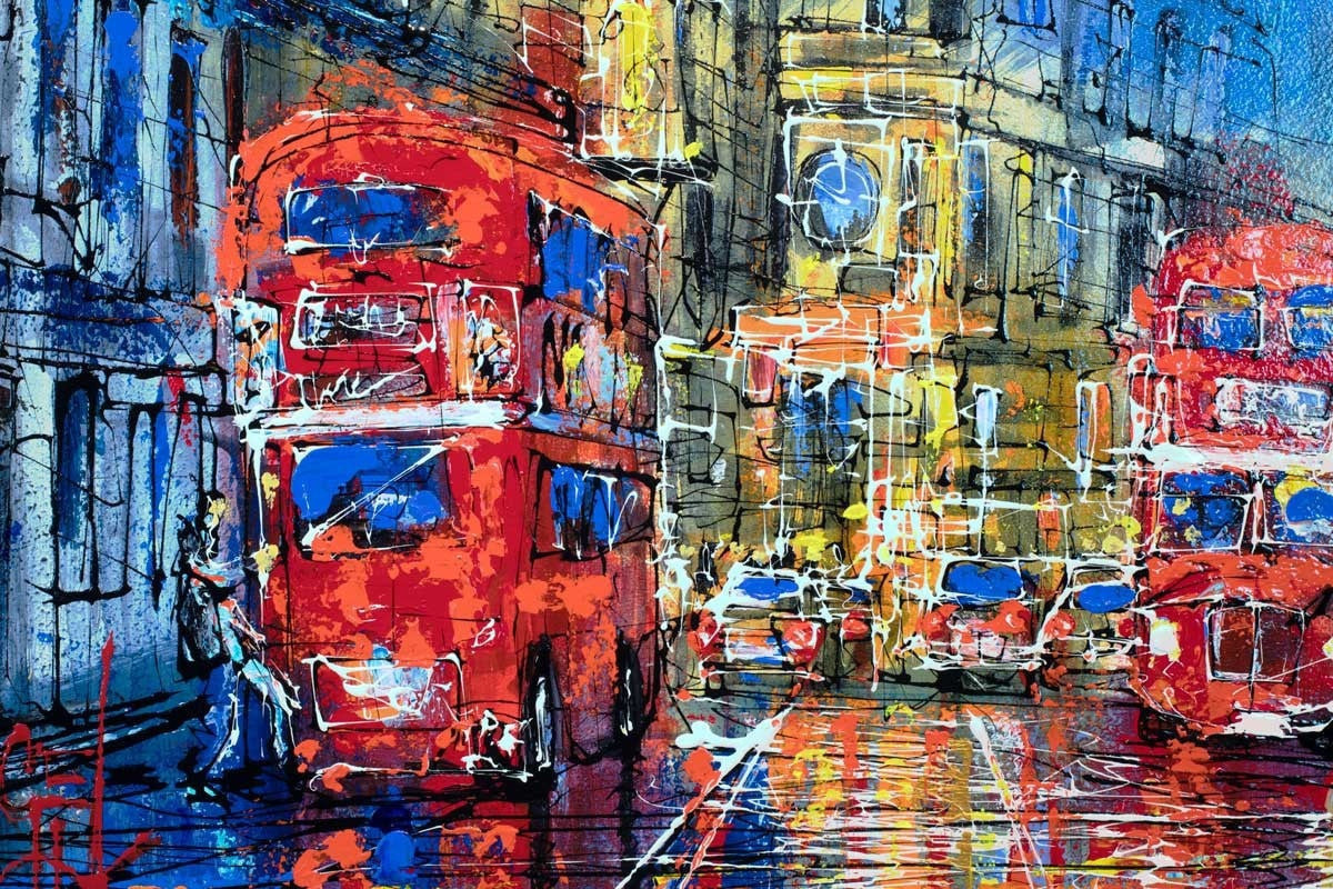 En Route - SOLD Nigel Cooke