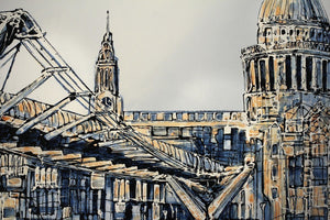 From the Tate to St. Paul's - SOLD Nigel Cooke