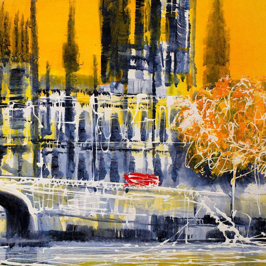 Golden Glow - Original Nigel Cooke