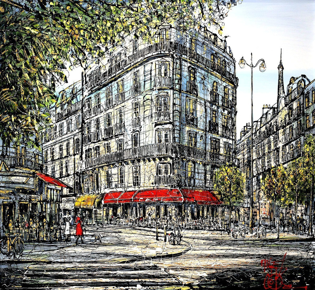 J'adore Paris! - SOLD Nigel Cooke