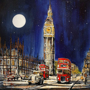Last Bus Home - SOLD Nigel Cooke