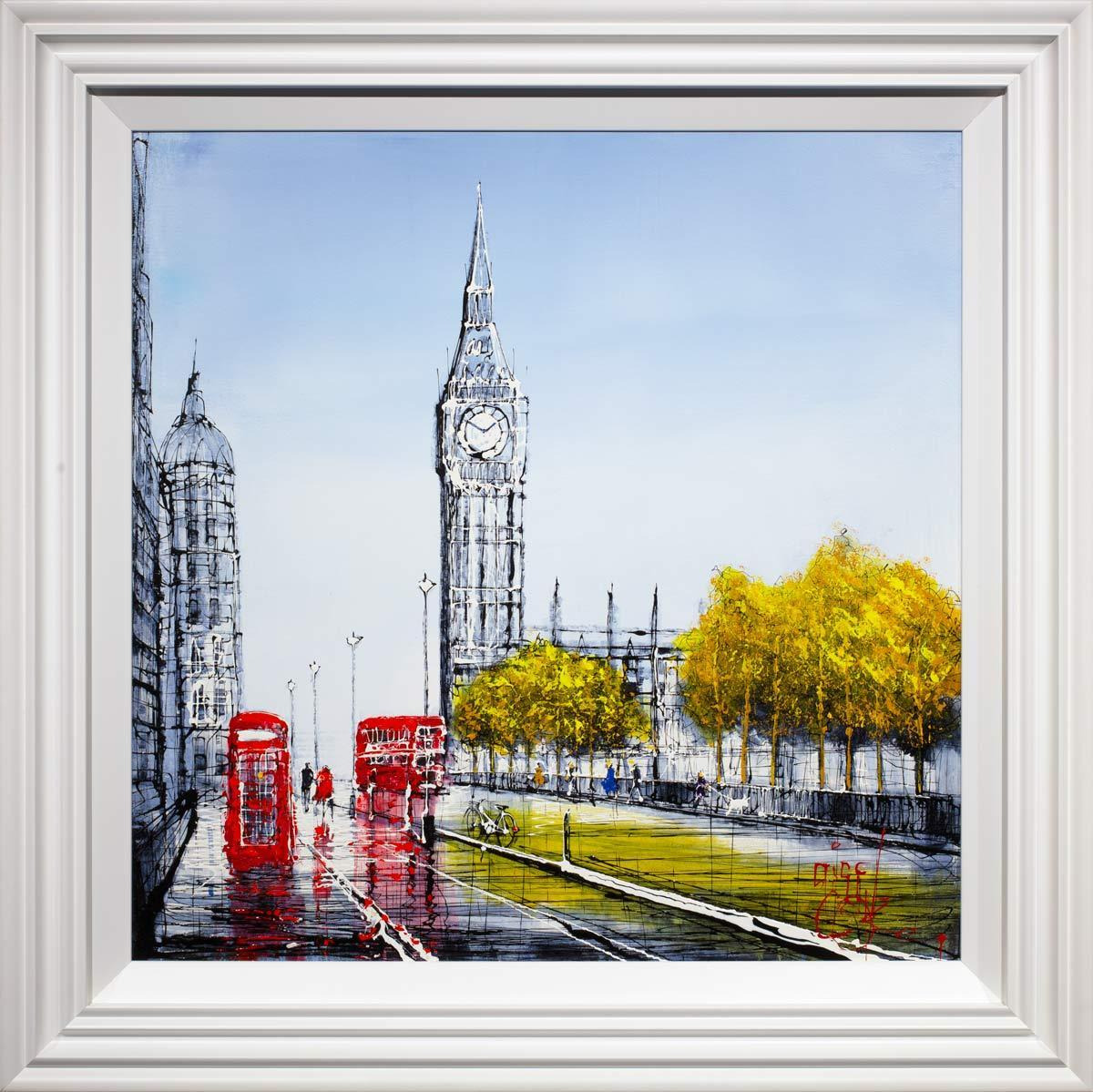 Legacies of London Nigel Cooke Framed