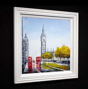 Legacies of London - Original Nigel Cooke Framed