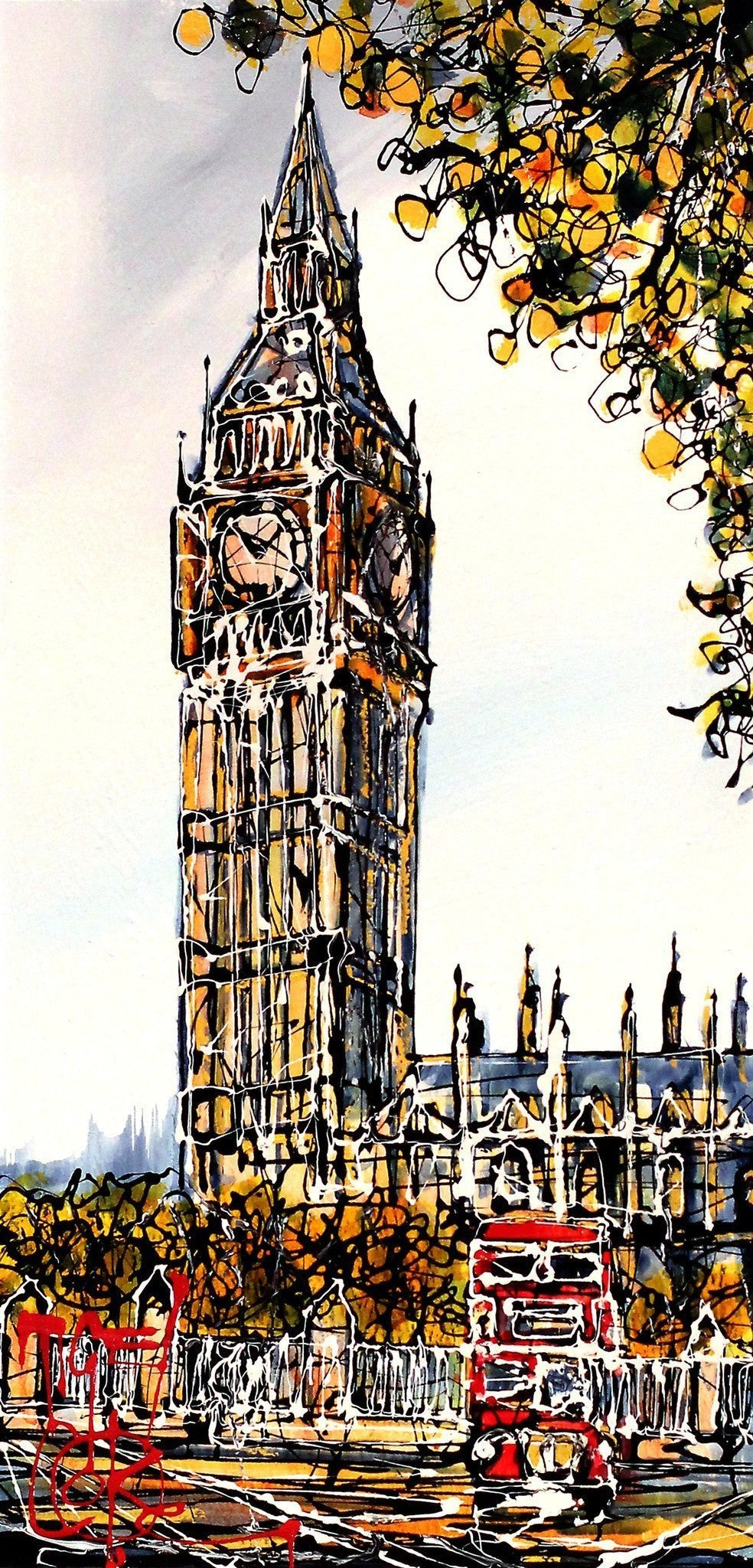 London Calling - SOLD Nigel Cooke