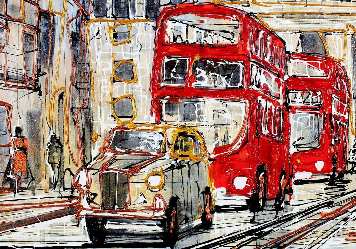 Ludgate Circus - SOLD OUT Nigel Cooke