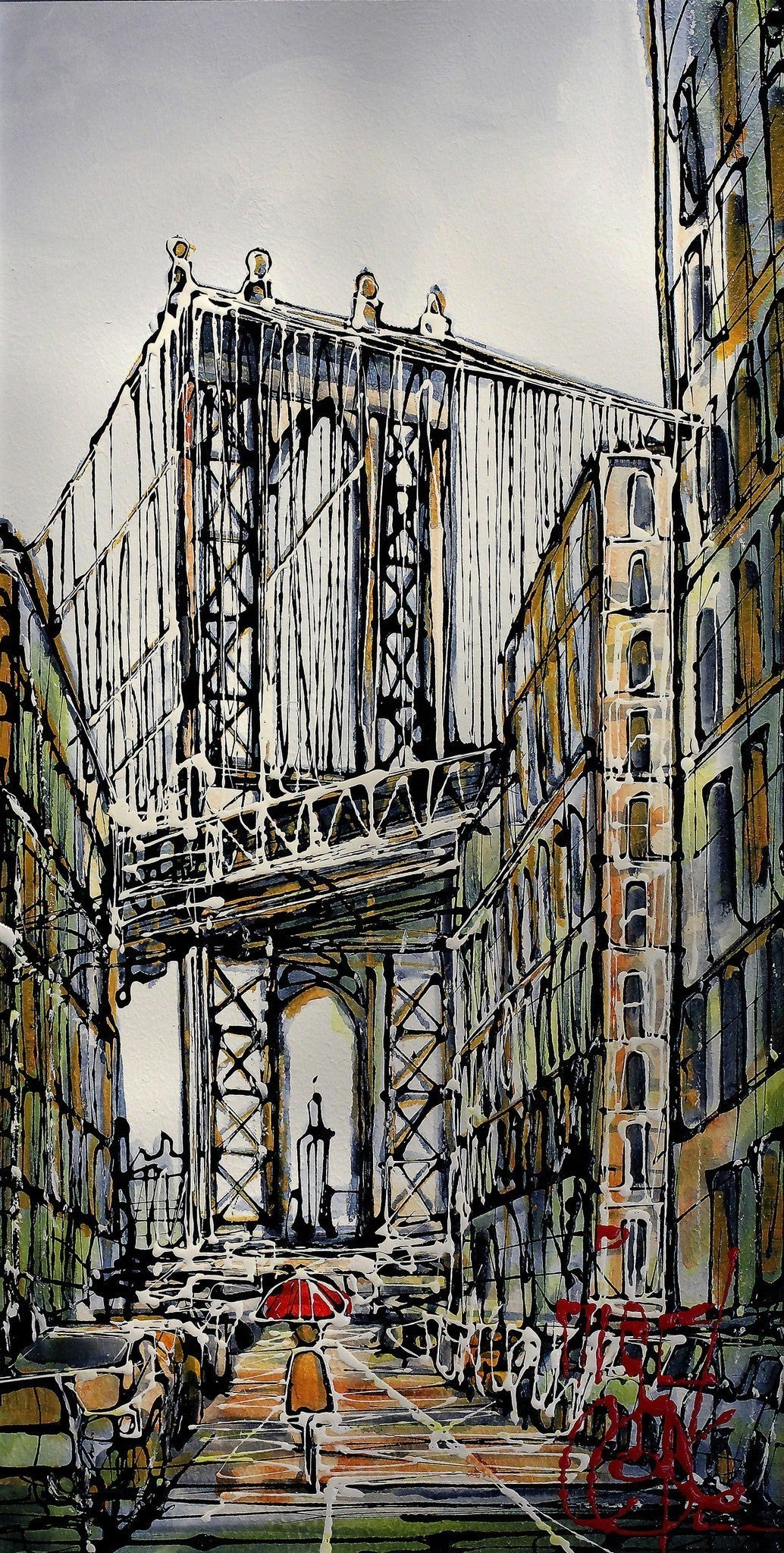 Manhattan Bridge - SOLD Nigel Cooke