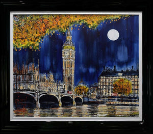 Midnight at Big Ben Nigel Cooke