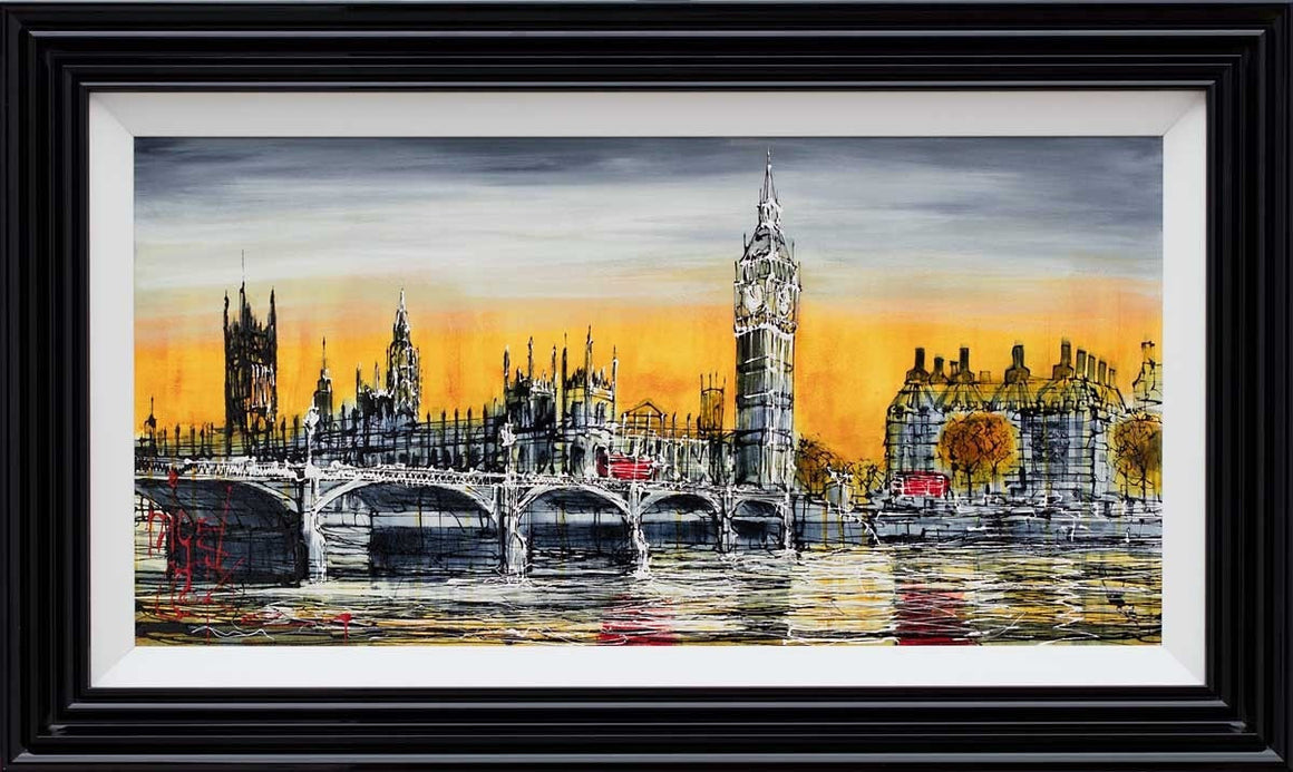 Orange Skies - SOLD Nigel Cooke