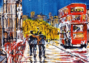 Paint the Town - SOLD Nigel Cooke