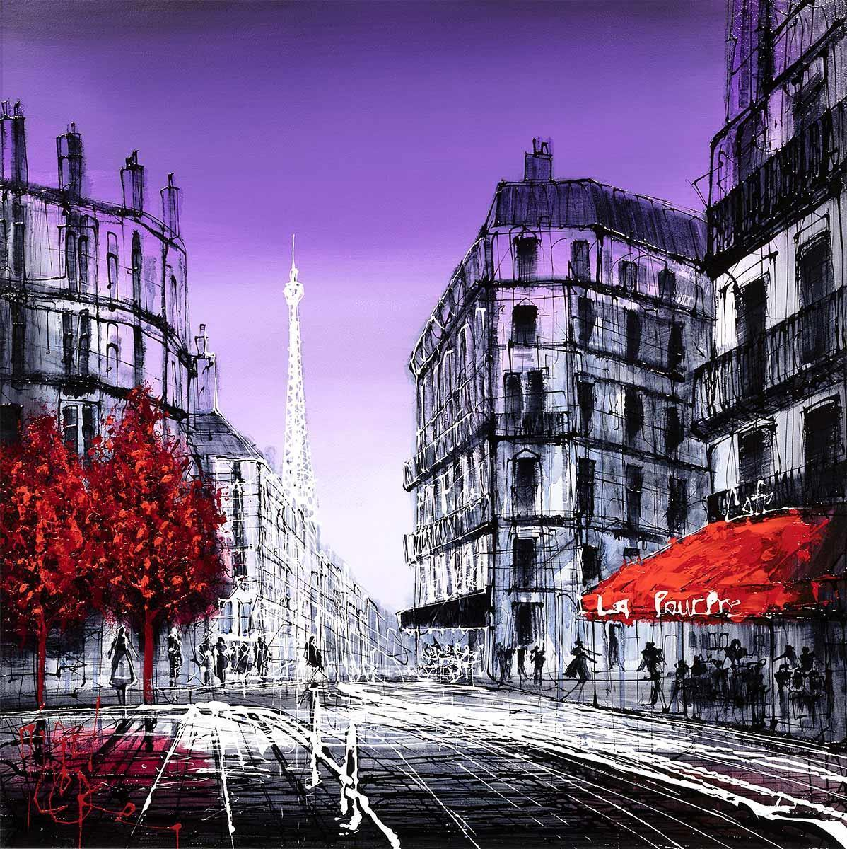 Paris Dreaming - Original Nigel Cooke