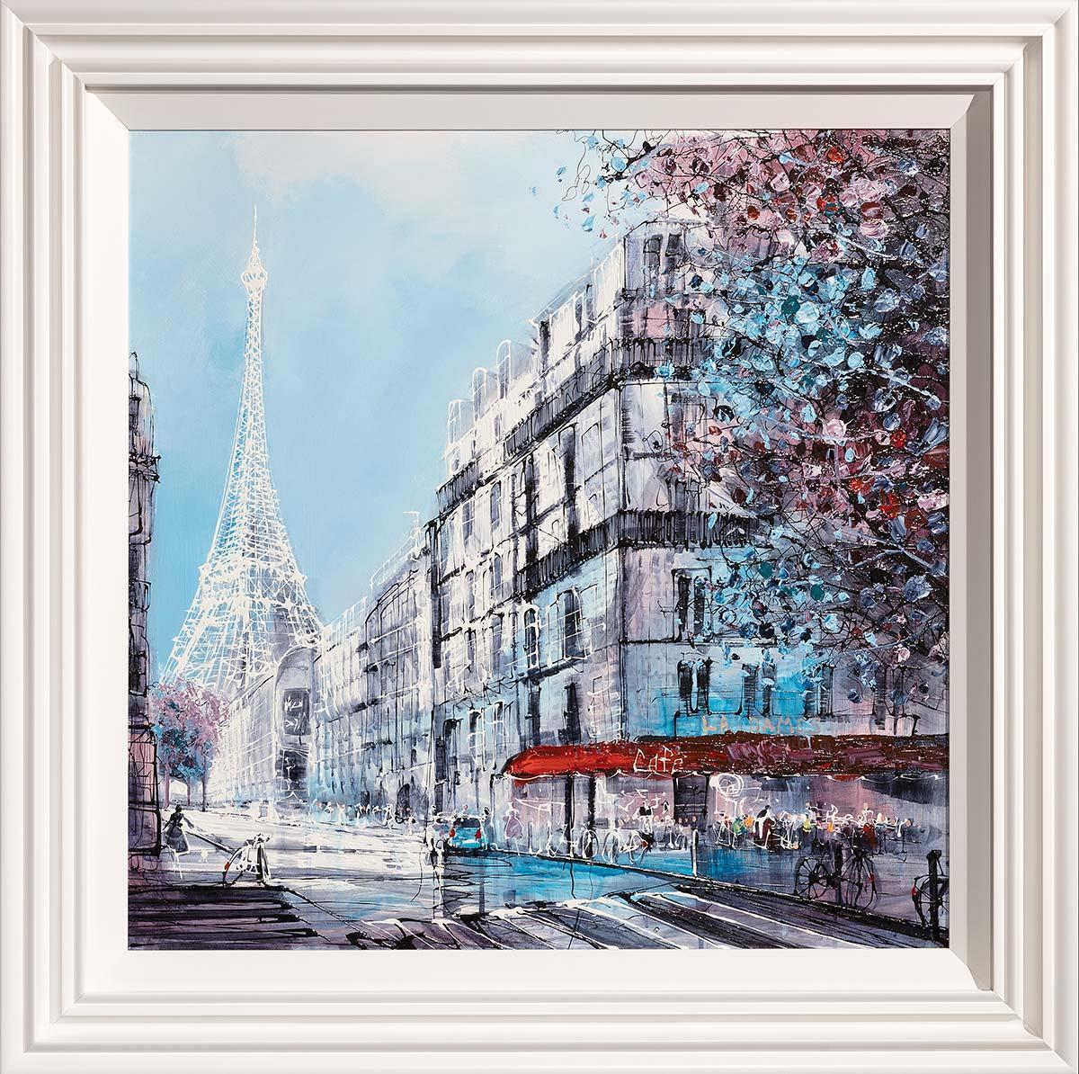 Parisian Winter - Original Nigel Cooke