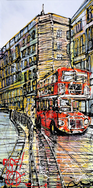 Passing Routemaster - SOLD Nigel Cooke