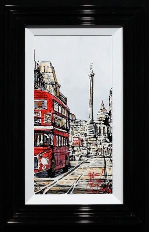 Passing Trafalgar - SOLD Nigel Cooke