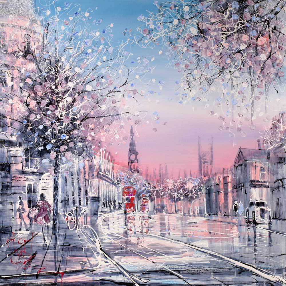Pink Dusk - Original - SOLD Nigel Cooke