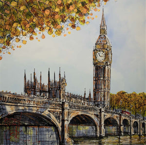 Pulse Of The City - SOLD Nigel Cooke