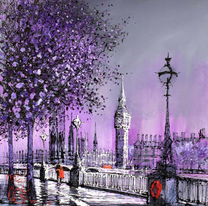 Purple Days Nigel Cooke