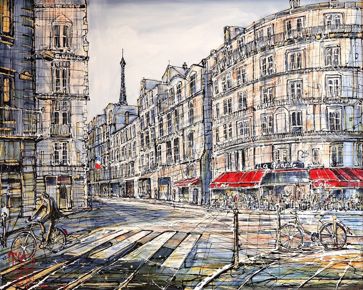 Rainy Day, Paris Nigel Cooke