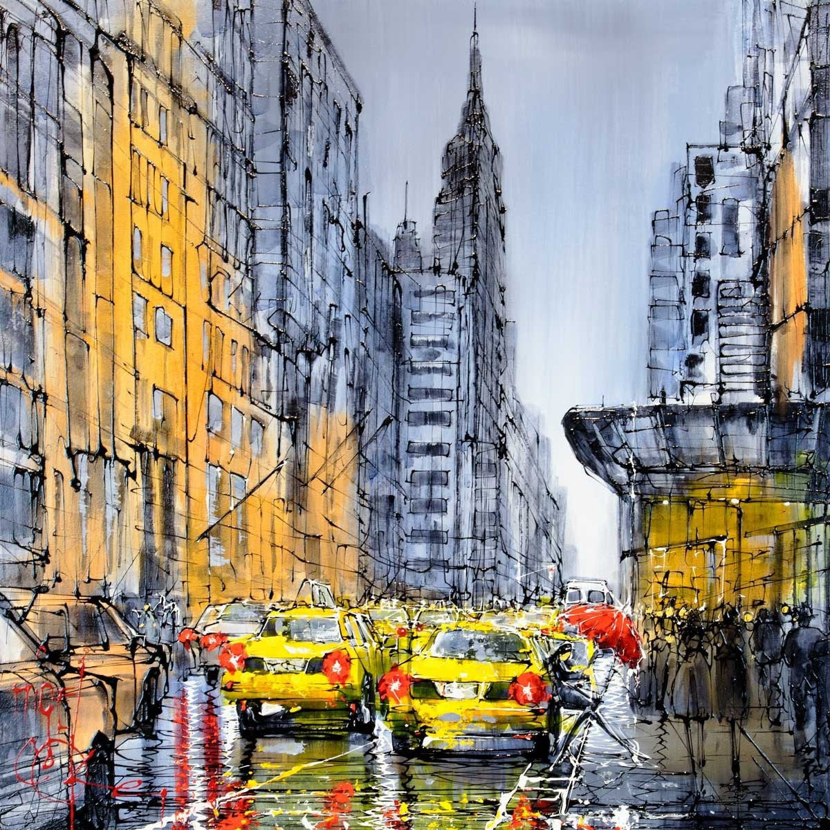 Rush Hour Nigel Cooke