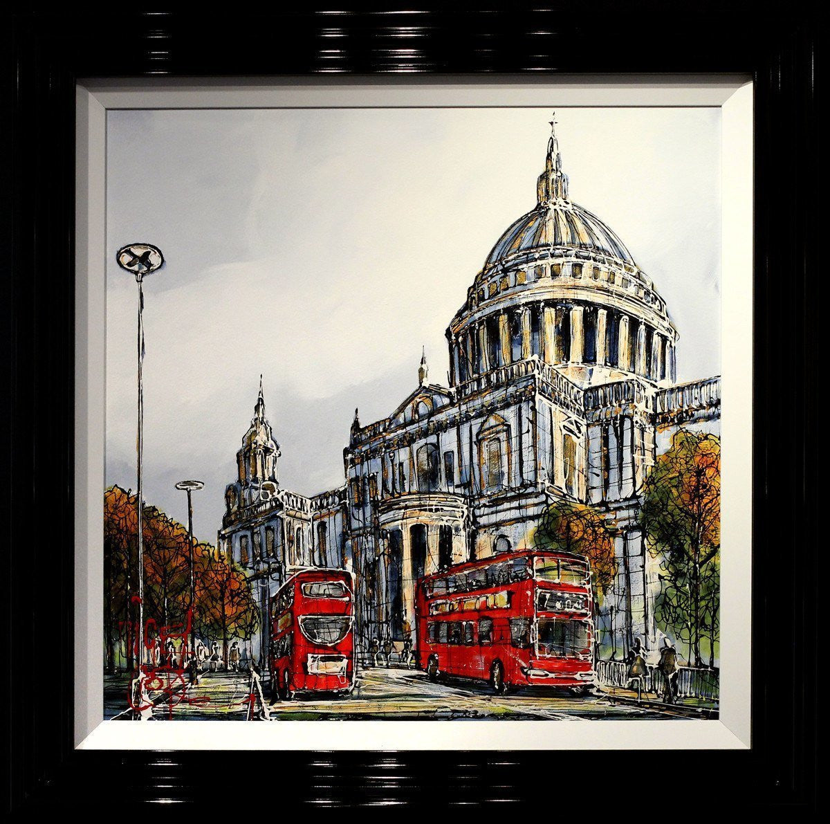 St Paul's Cathedral - SOLD Nigel Cooke