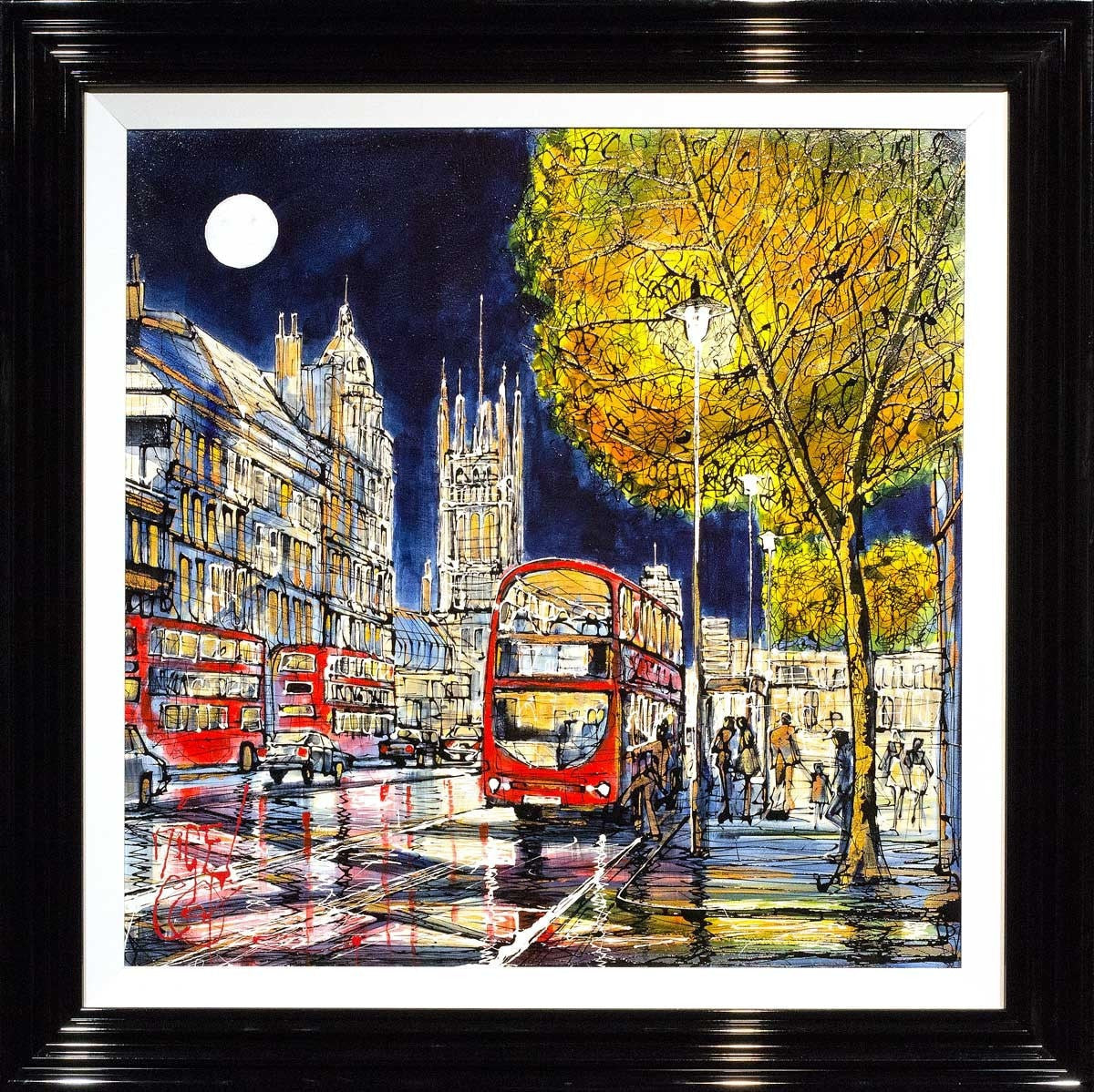 The Night Bus Home Nigel Cooke