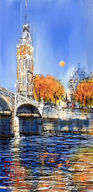 The Timepiece (Big Ben) Nigel Cooke